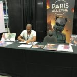 Comic artist Paris Alleyne