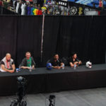 Power Rangers panel with Jeff Parazzos and Kevin Duhaney