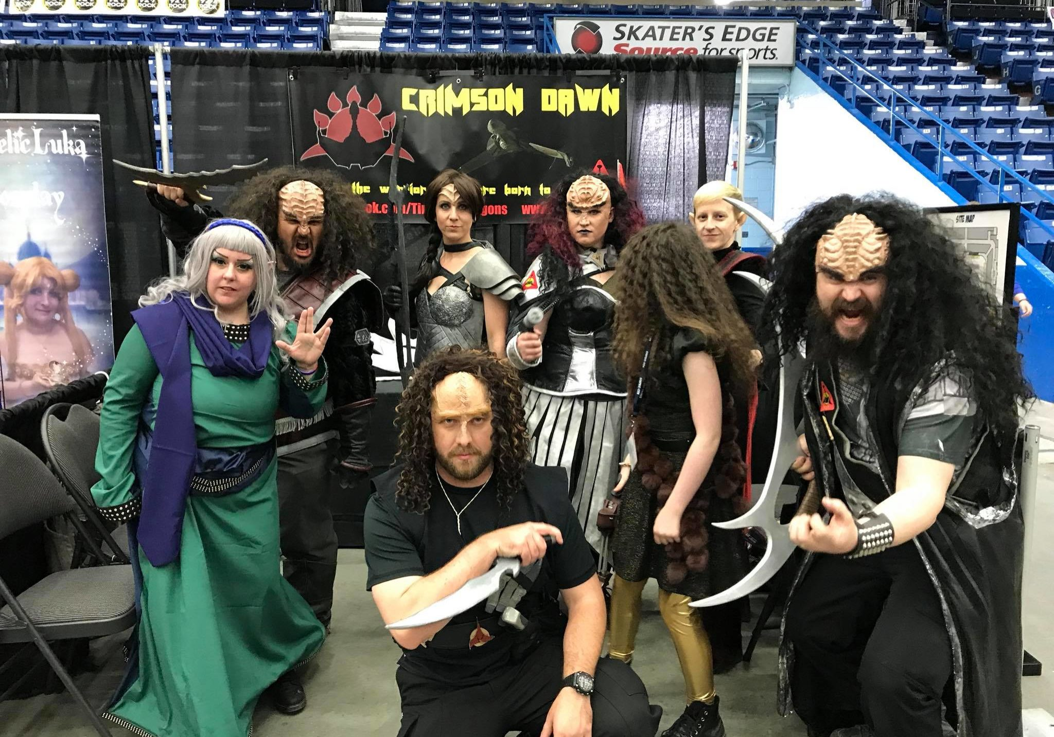Crimson Dawn cosplay group